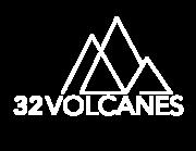 32 volcanes